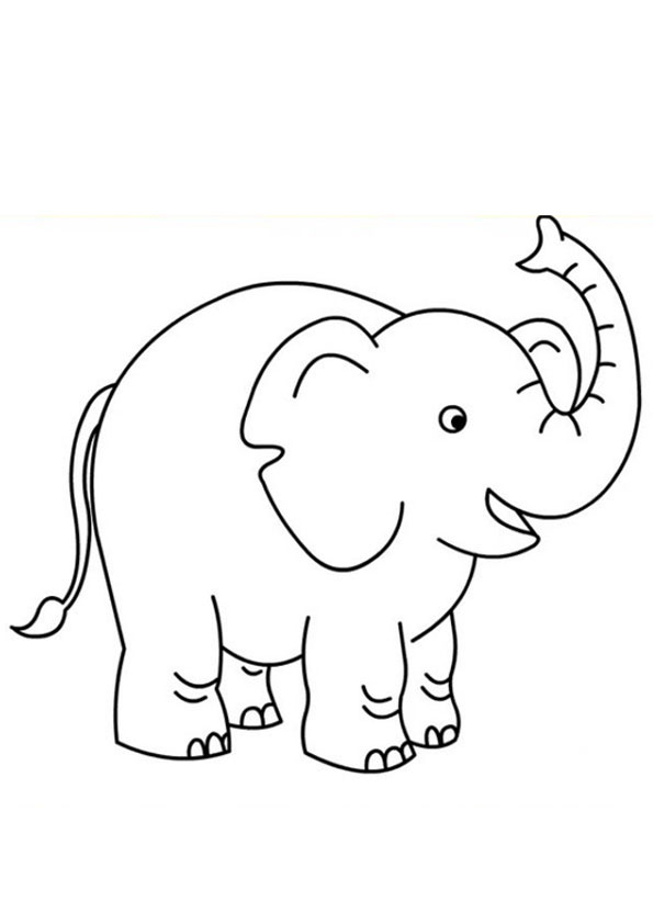 free printable elephant pictures free easy to print elephant coloring pages tulamama pictures elephant free printable