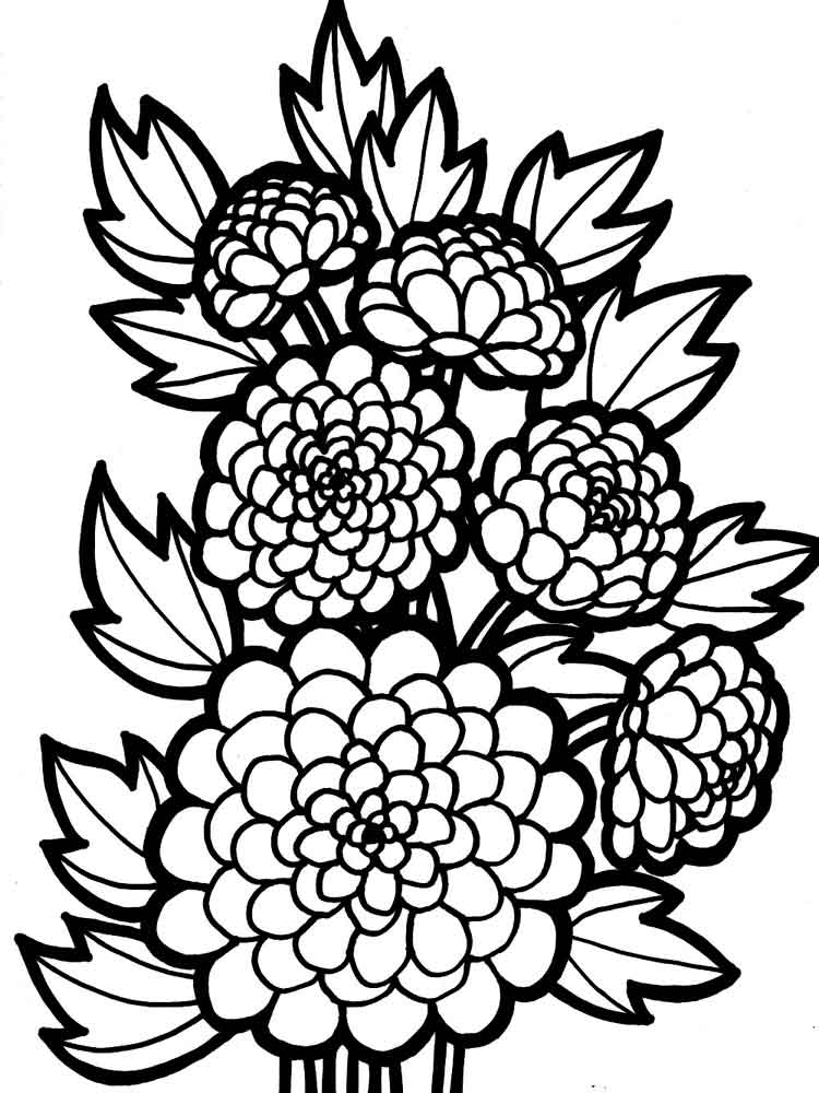 free printable flower coloring pages free printable flower coloring pages for kids best coloring printable free pages flower