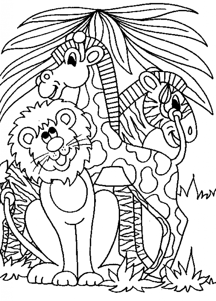 free printable jungle coloring pages jungle coloring pages best coloring pages for kids jungle pages coloring printable free
