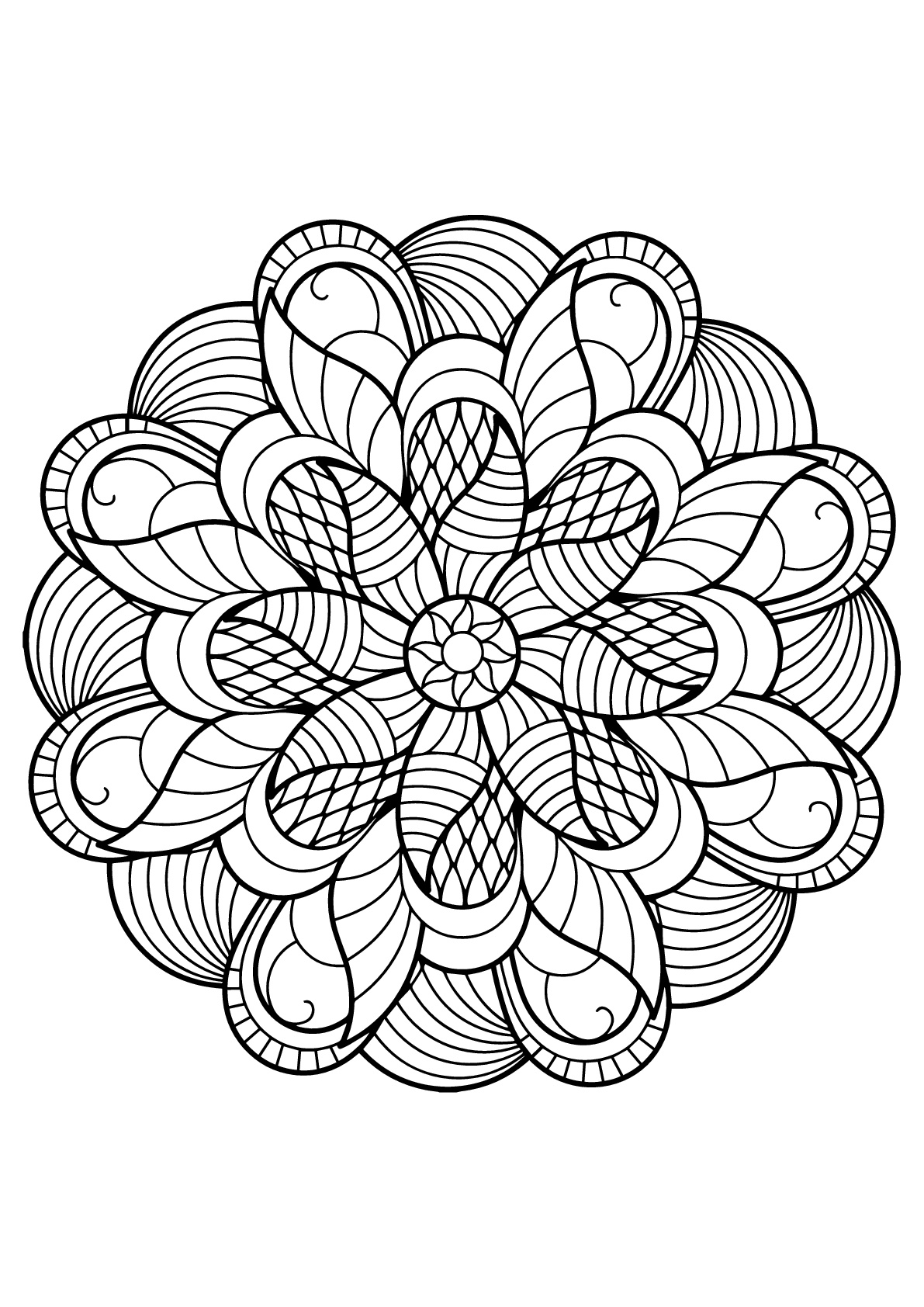 free printable mandalas to color for adults free mandala coloring pages for adults coloring home to adults for color printable free mandalas