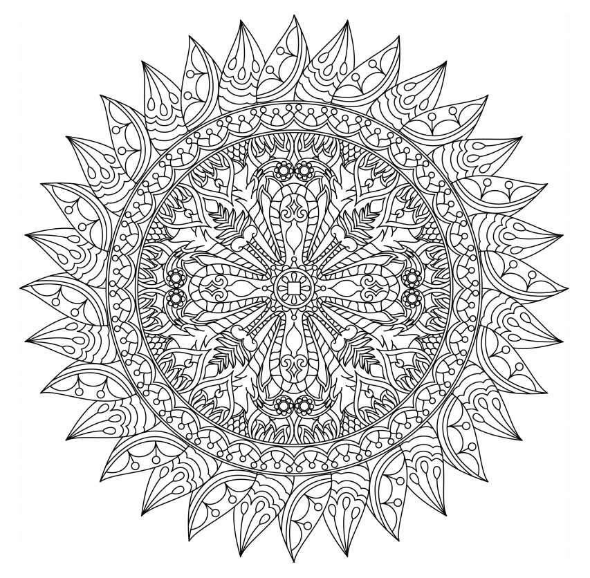 free printable mandalas to color for adults free printable mandala coloring pages for adults best printable free for color mandalas to adults