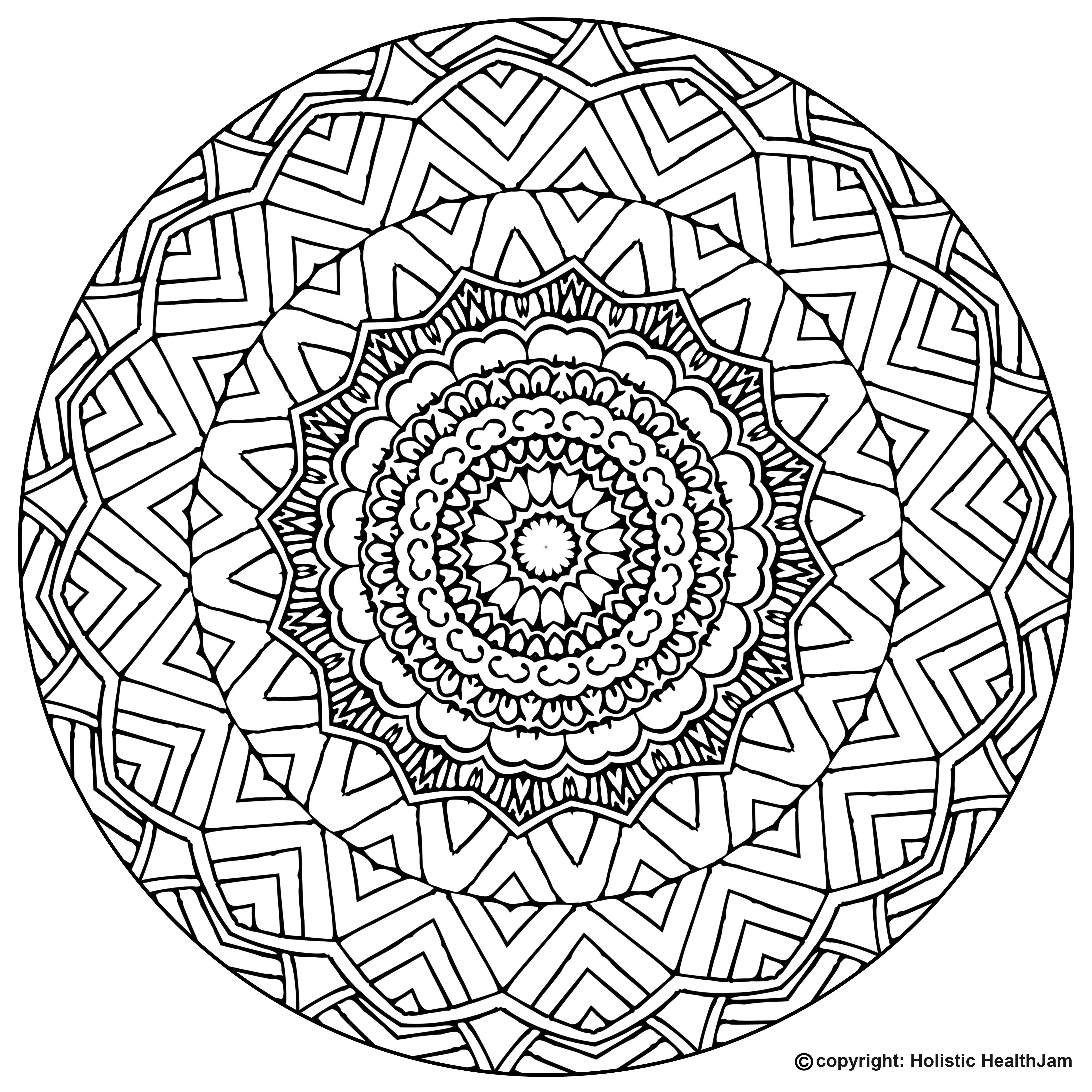 free printable mandalas to color for adults mandala from free coloring books for adults 14 mandalas to printable for free color mandalas adults