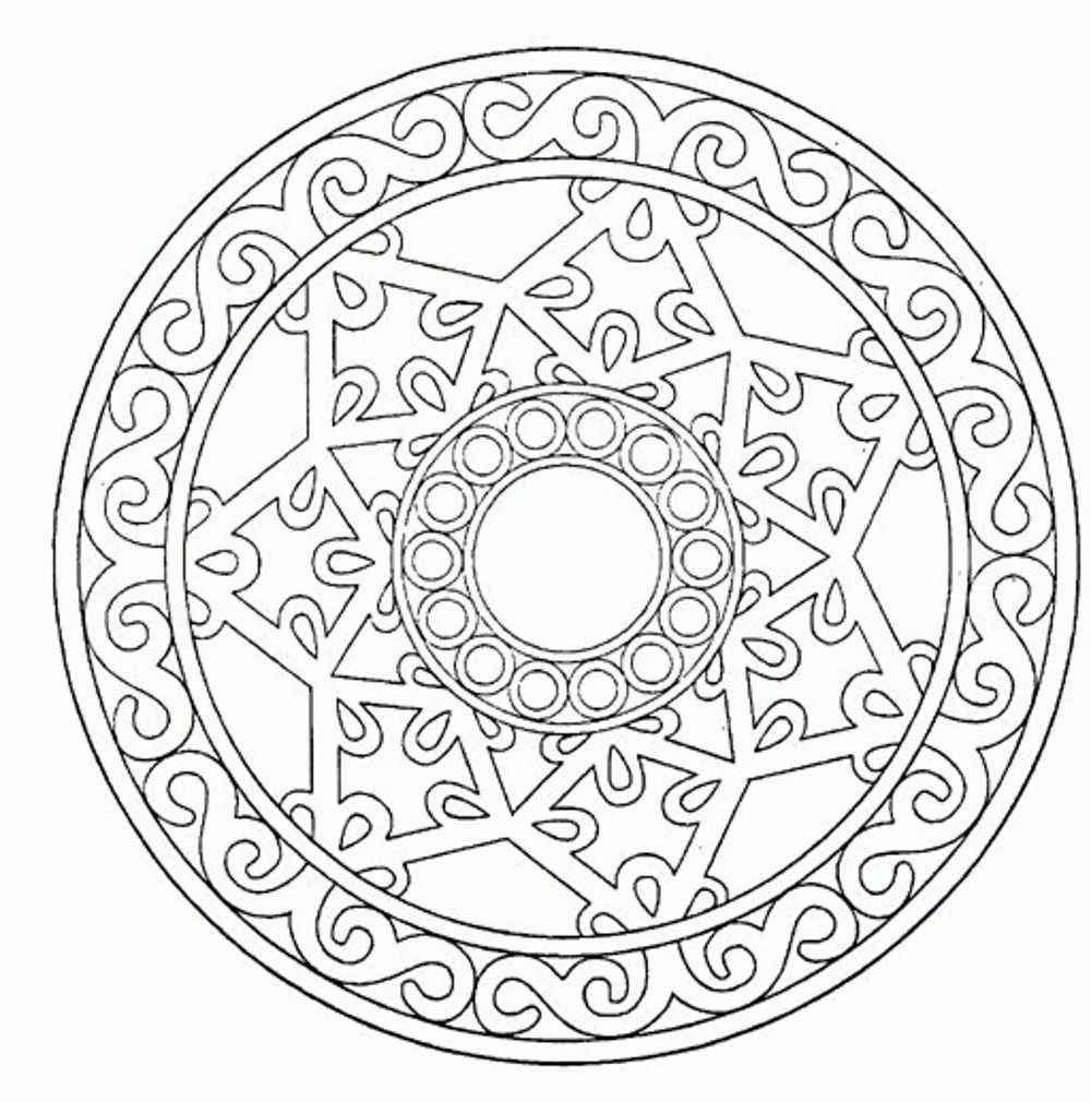 free printable mandalas to color for adults mandala from free coloring books for adults 16 malas for adults printable to color free mandalas