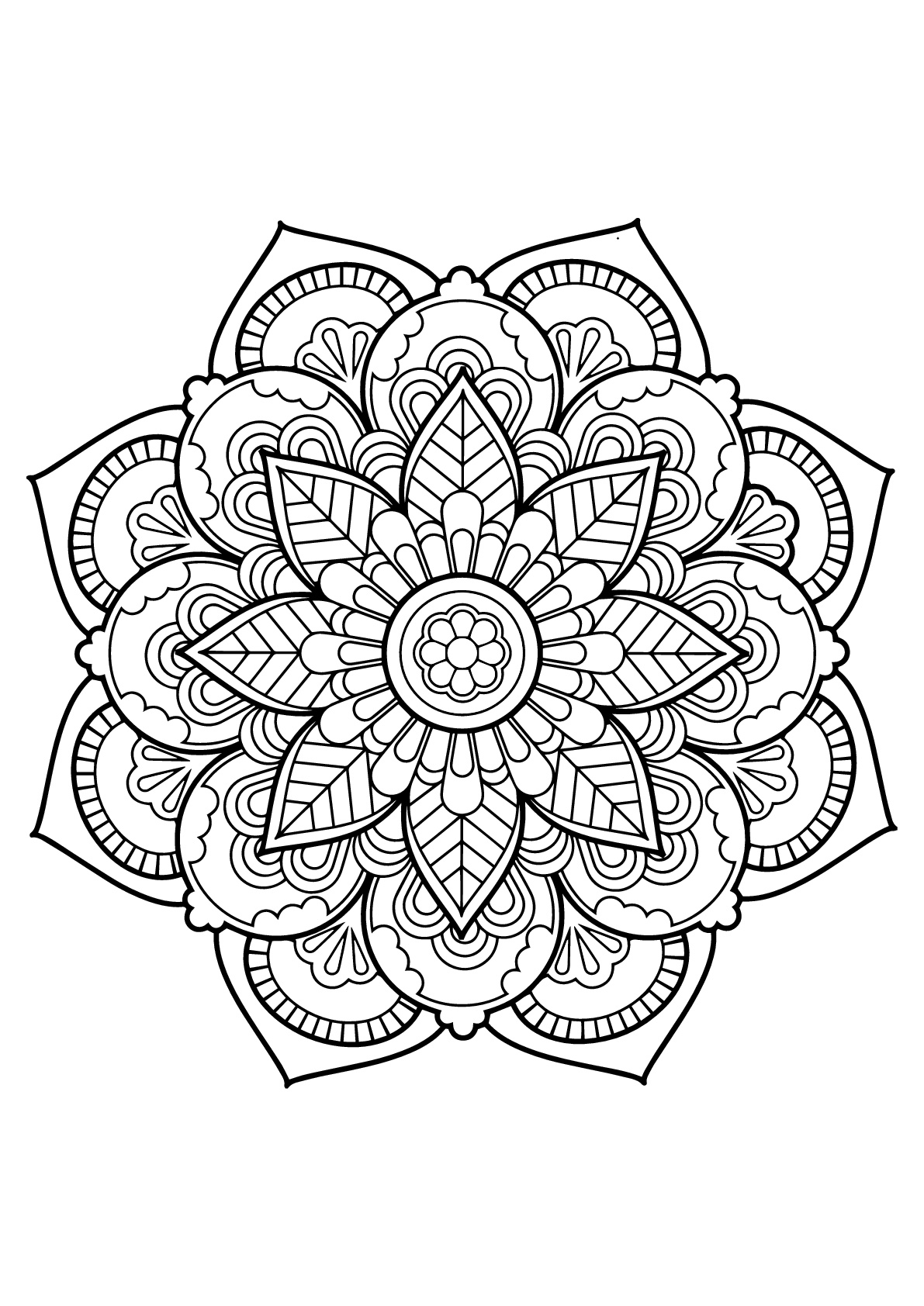 free printable mandalas to color for adults mandala from free coloring books for adults 24 mandalas adults color mandalas free for to printable