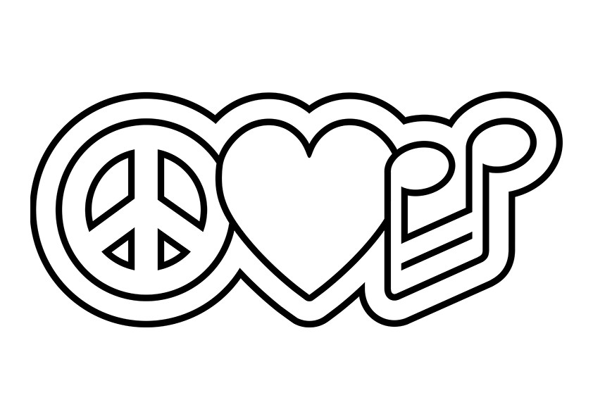 free printable peace sign coloring pages free printable peace sign coloring pages cool2bkids peace sign free coloring printable pages