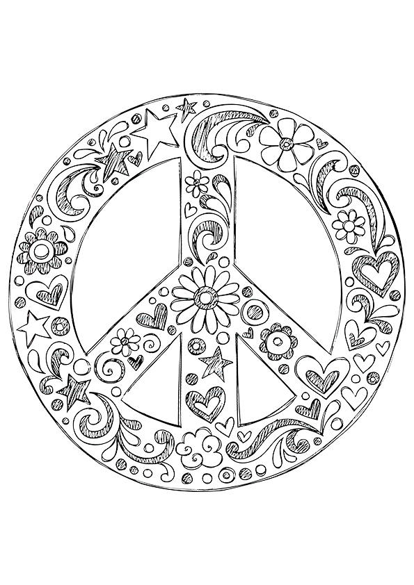 free printable peace sign coloring pages free printable peace sign coloring pages cool2bkids sign coloring free printable peace pages