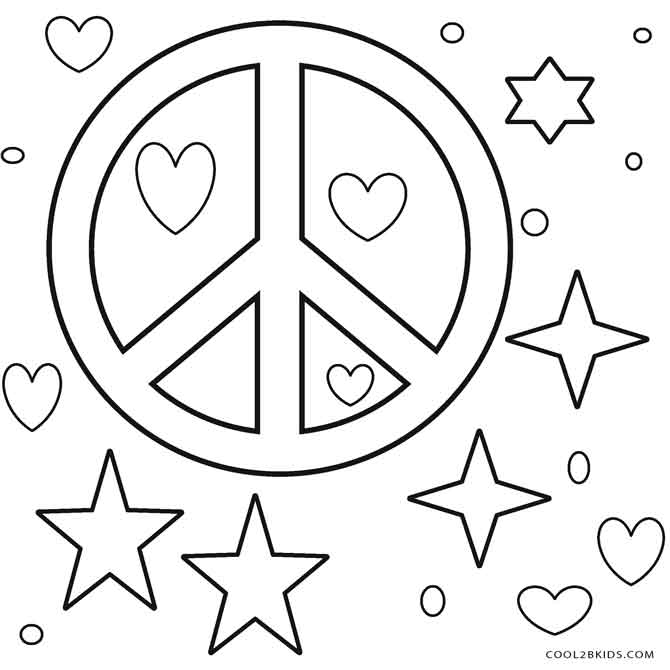 free printable peace sign coloring pages simple and attractive free printable peace sign coloring free peace coloring sign pages printable