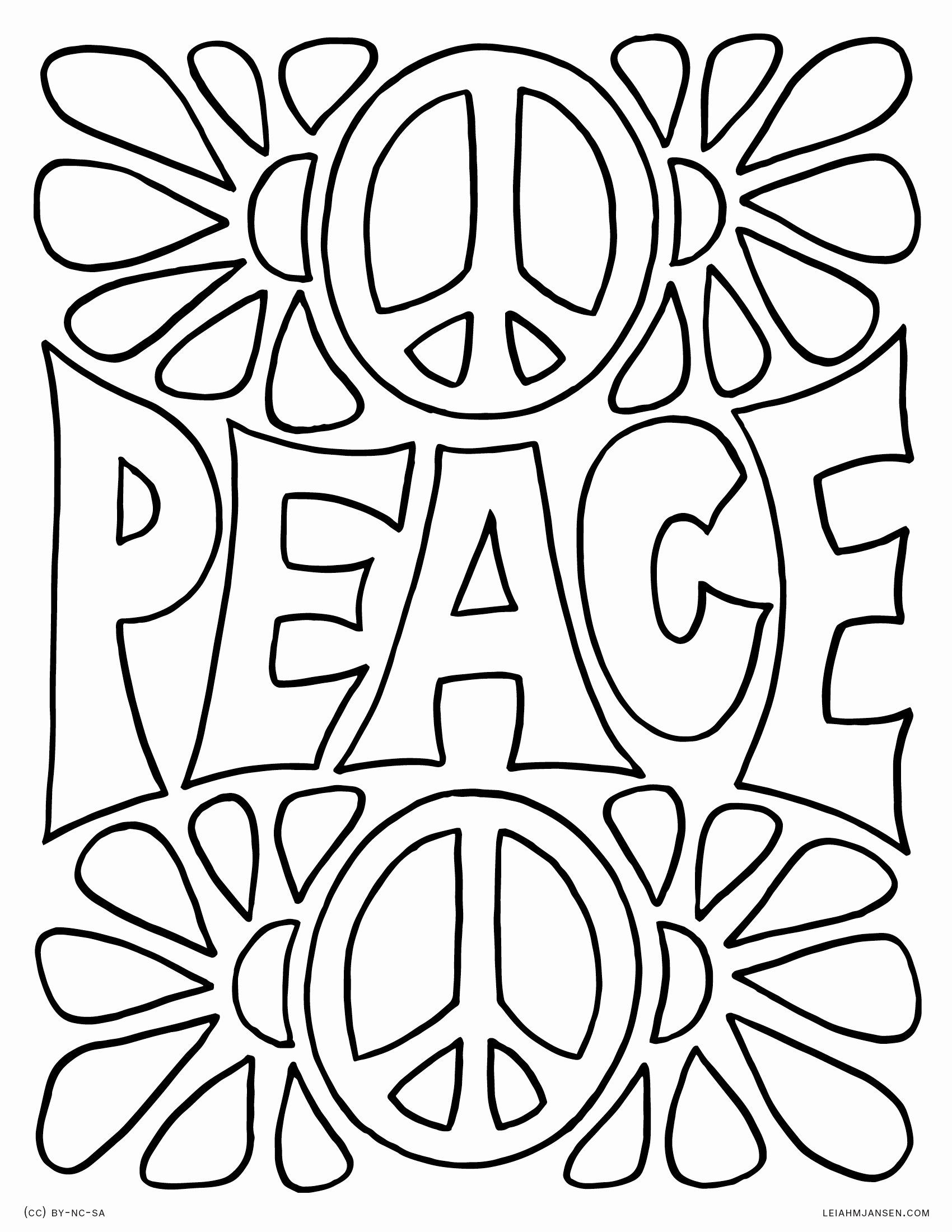 free printable peace sign coloring pages simple and attractive free printable peace sign coloring printable sign pages coloring free peace