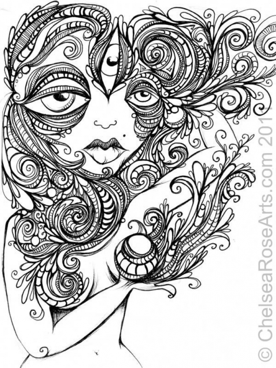 free printable trippy coloring pages psychedelic pattern coloring page free printable trippy printable free coloring pages