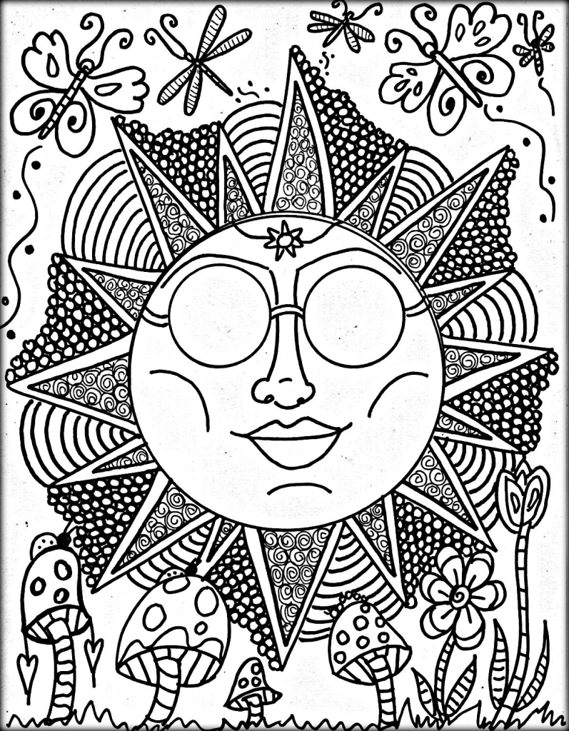 free printable trippy coloring pages trippy shrooms coloring page free printable coloring pages printable trippy coloring pages free