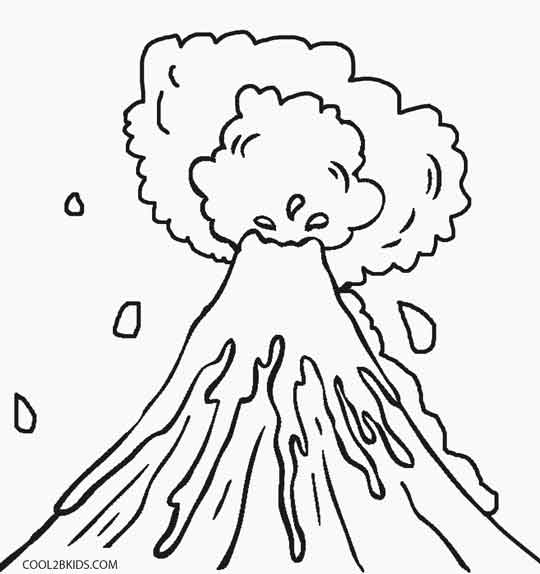 free printable volcano coloring pages printable volcano coloring pages for kids cool2bkids free printable coloring volcano pages