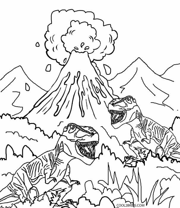 free printable volcano coloring pages volcano coloring pages for kids coloring home free pages printable volcano coloring
