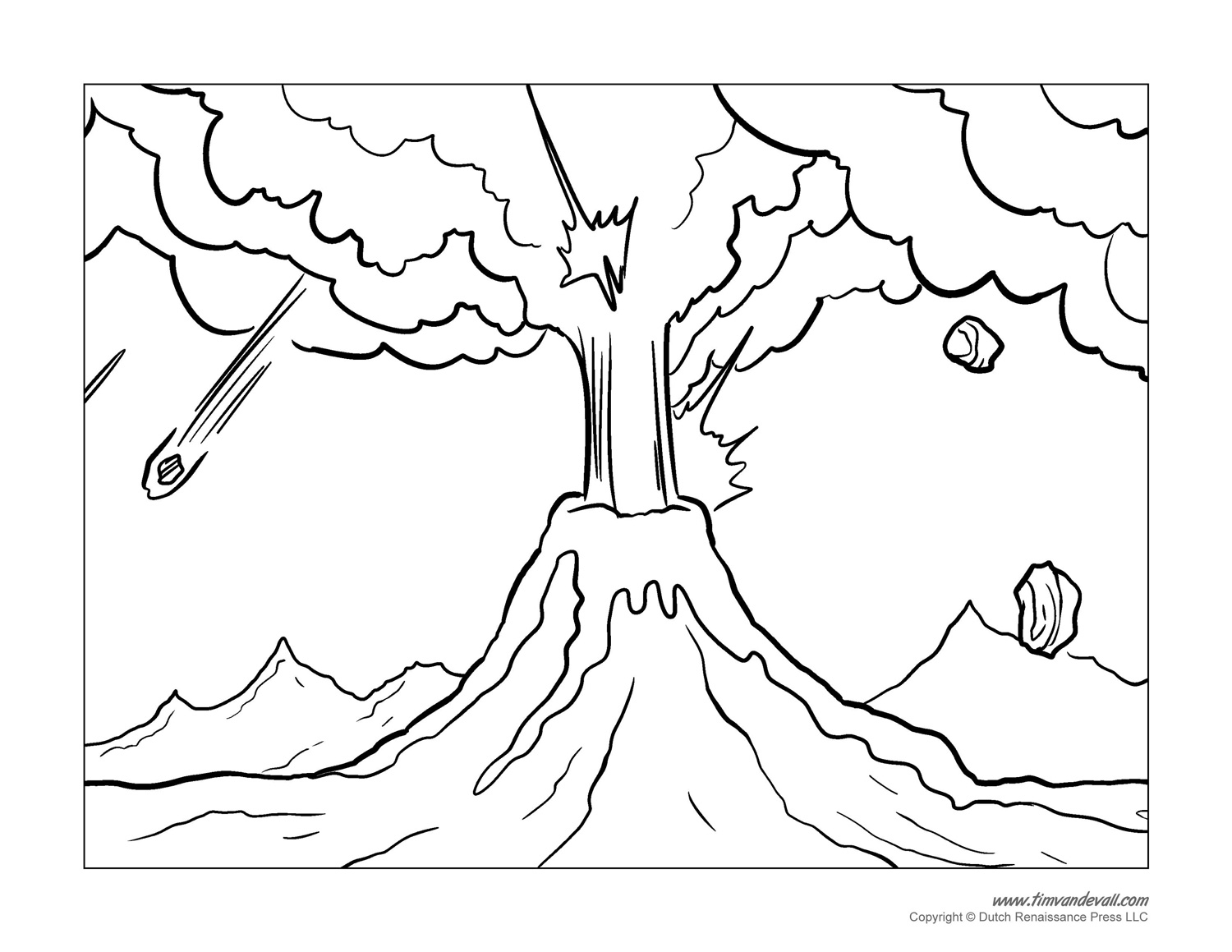 free printable volcano coloring pages volcano coloring pages to download and print for free free printable coloring pages volcano