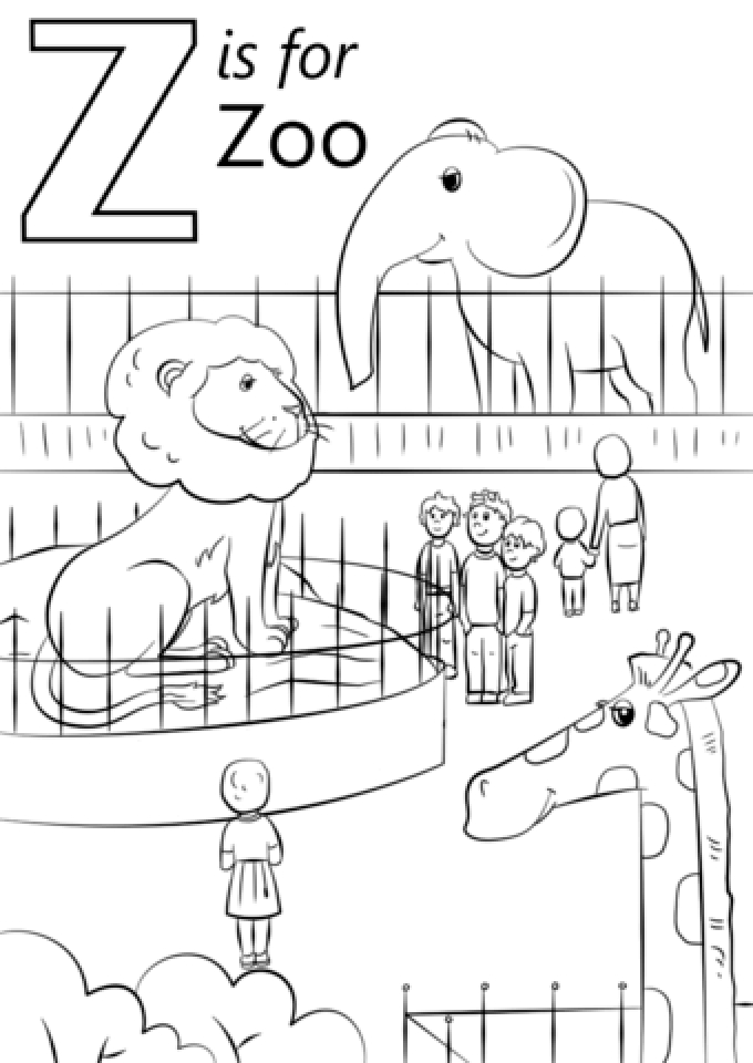 free printable zoo coloring pages zoo animal coloring pages for toddlers at getdrawings free printable coloring zoo pages