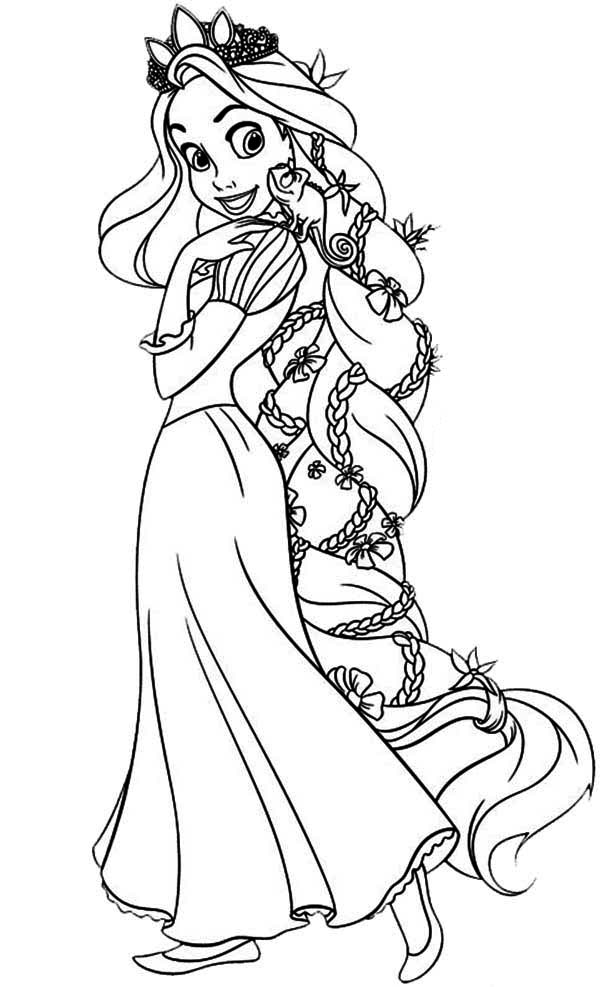 free rapunzel coloring pages free printable tangled coloring pages for kids cool2bkids rapunzel pages coloring free