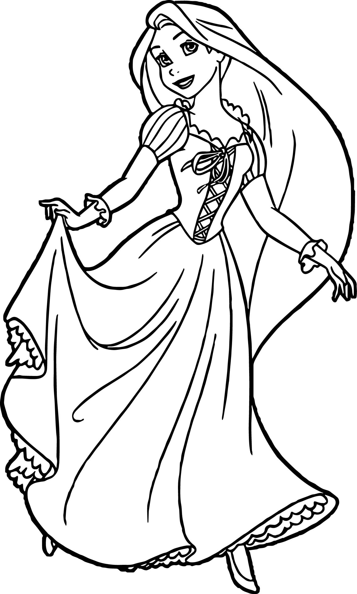free rapunzel coloring pages rapunzel coloring pages for kids visual arts ideas pages rapunzel coloring free