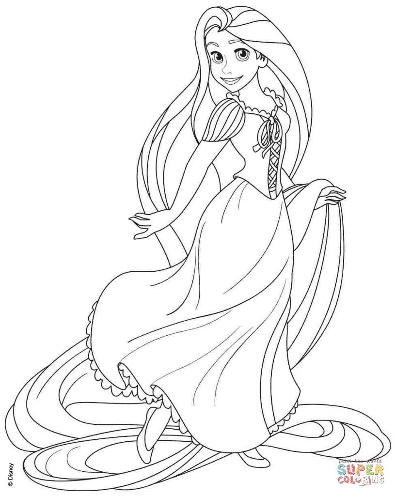 free rapunzel coloring pages rapunzel coloring pages to download and print for free free coloring pages rapunzel