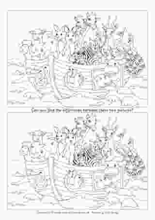 free spot the difference printable for adults spot the difference coloring pages download and print for free for printable spot adults the free difference