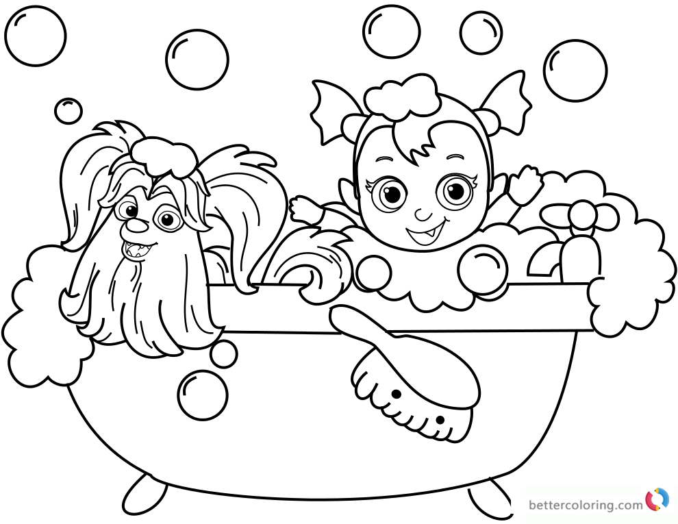free vampirina coloring pages colouring pages vampirina coloringpages2019 free pages coloring vampirina