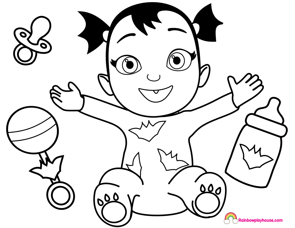 free vampirina coloring pages the best free vampirina coloring page images download free pages vampirina coloring