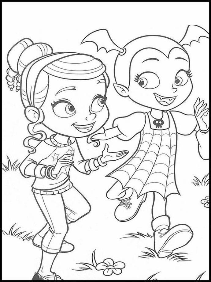 free vampirina coloring pages wolfie from vampirina coloring page disney coloring coloring free pages vampirina