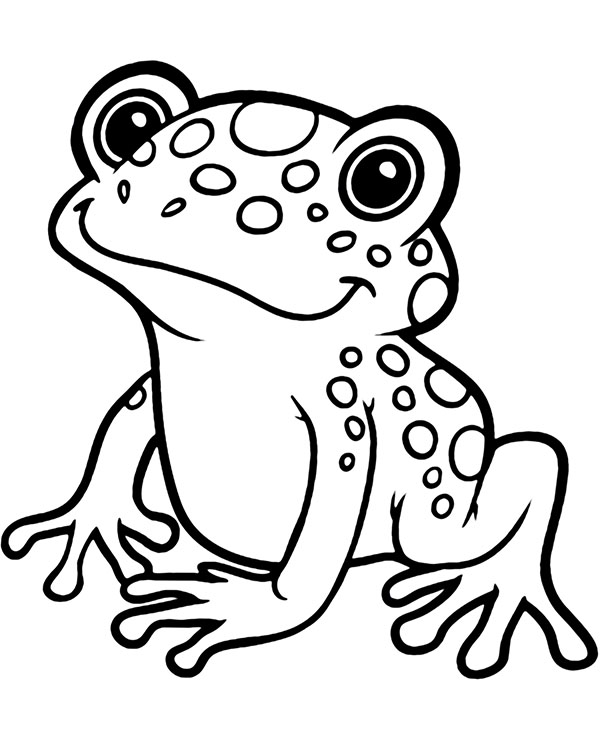 frog coloring pages to print frog clipart coloring pages and other free printable to print coloring pages frog
