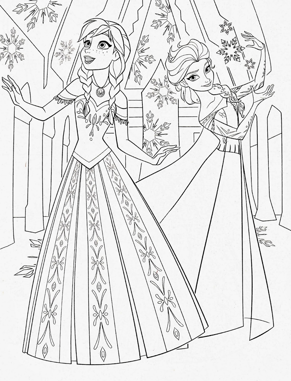 frozen coloring images frozen coloring pages free printables at getdrawings coloring images frozen