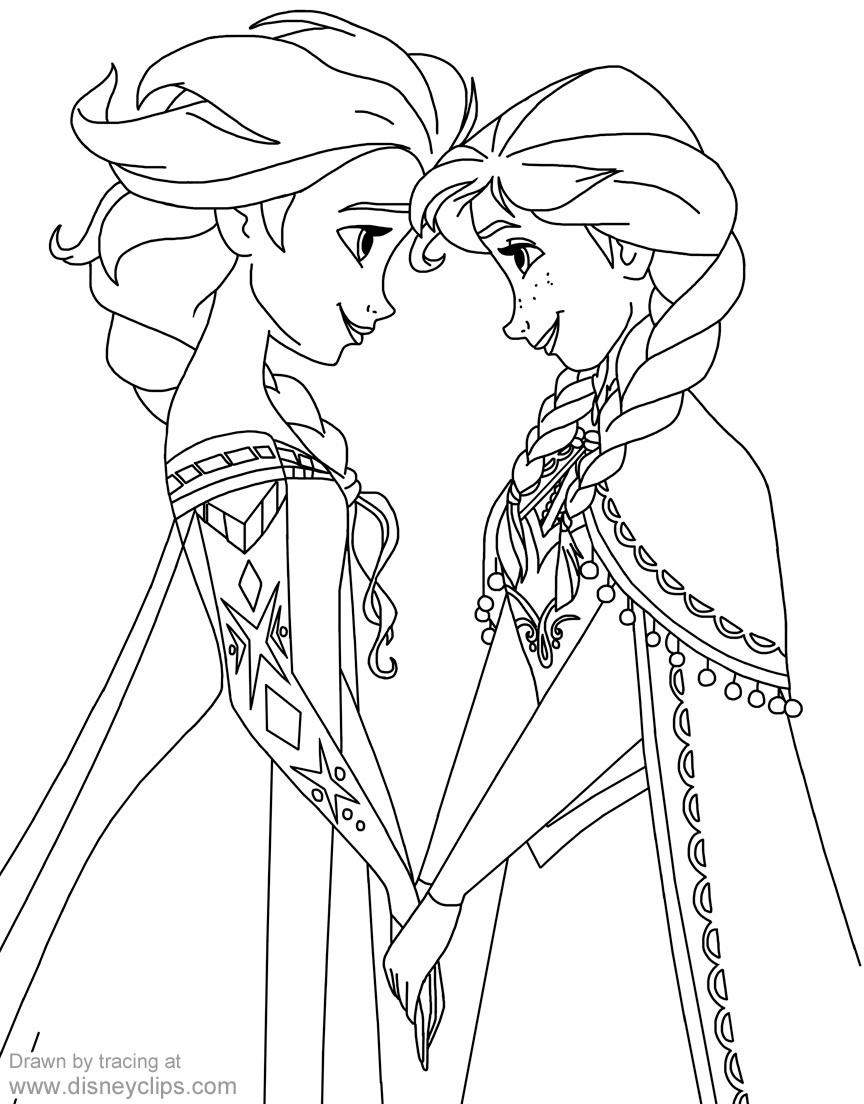 frozen elsa and anna coloring pages elsa and anna coloring page by theroyalprincesses on frozen coloring and anna pages elsa