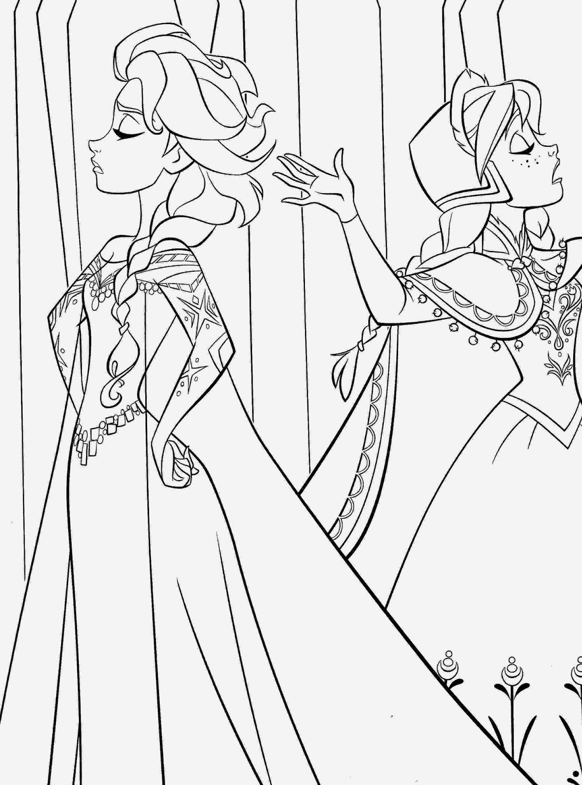 frozen elsa and anna coloring pages free frozen printable coloring activity pages plus free frozen anna and pages elsa coloring