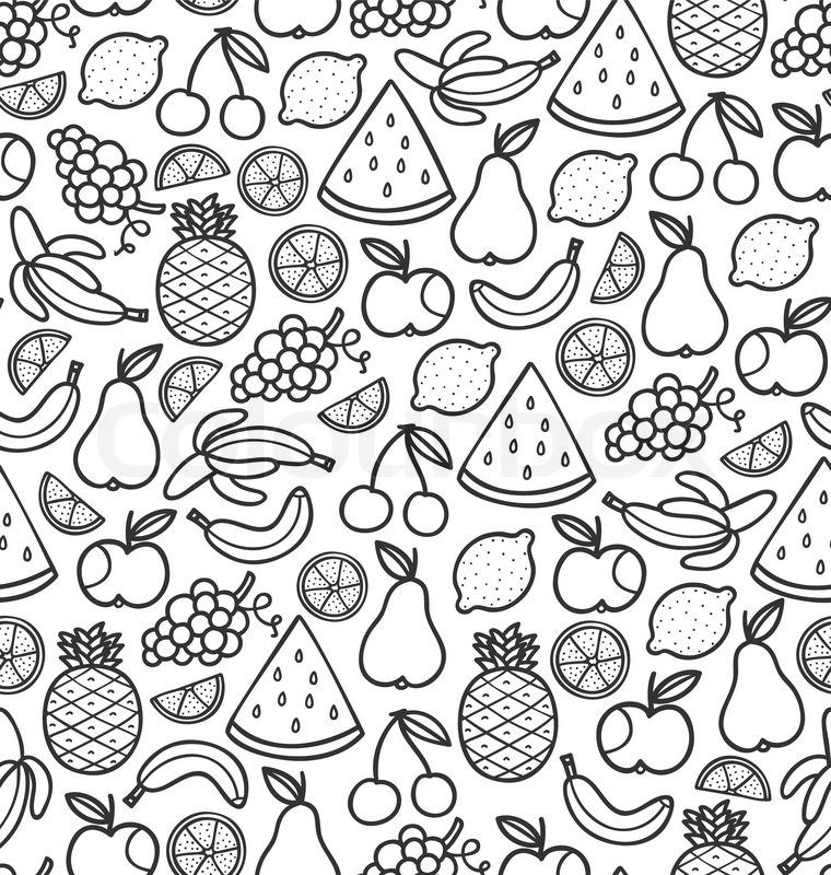 fruits drawings color image result for fruit doodles fruit doodle doodle fruits color drawings