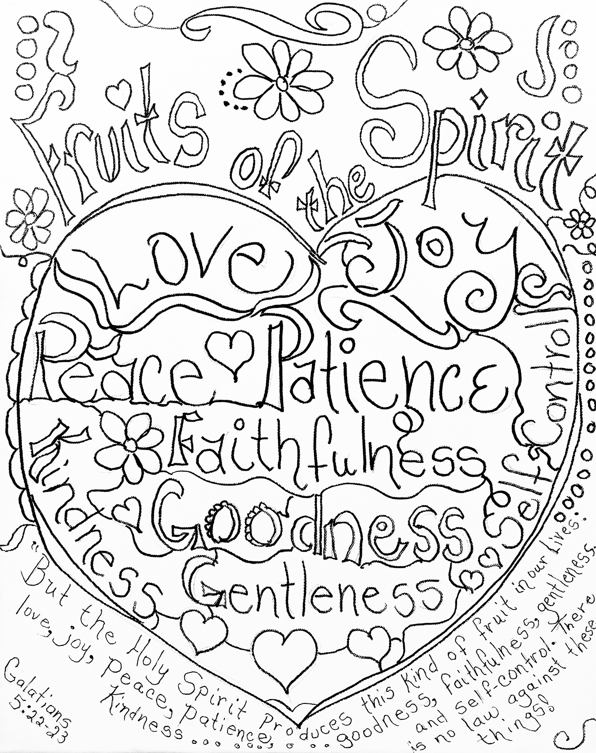 fruits of the spirit coloring pages fruit of the spirit coloring page École du dimanche of the fruits pages spirit coloring