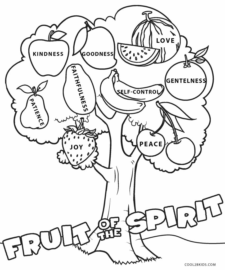 fruits of the spirit coloring pages fruit of the spirit coloring pages free printables pages the of spirit coloring fruits