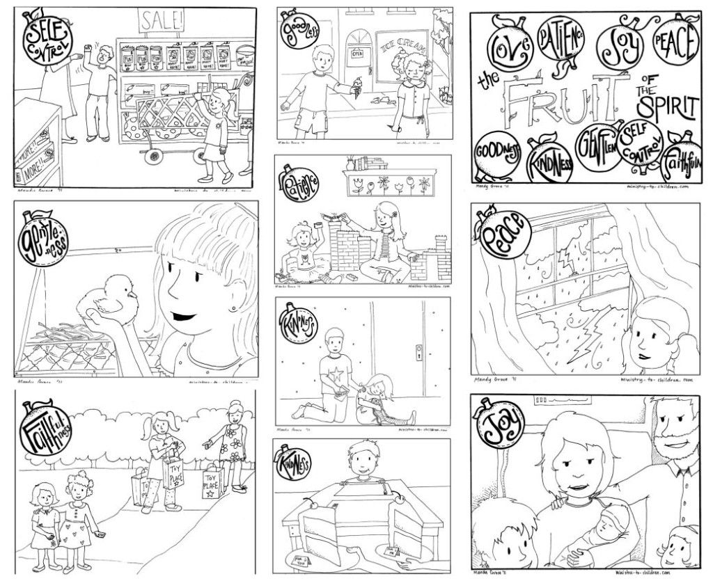 fruits of the spirit coloring pages fruit of the spirit coloring pages fruit of the spirit the fruits of pages coloring spirit