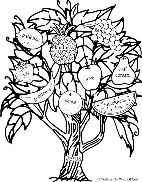 fruits of the spirit coloring pages fruits of the spirits coloring pages coloring home pages spirit fruits coloring of the
