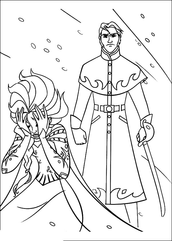 funnel boy coloring pages prince hans free colouring pages funnel boy coloring pages
