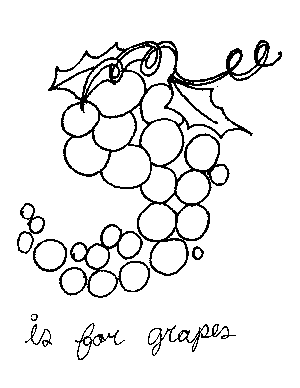 g for grapes coloring page g is for grapes uppercase coloring page coloring pages page coloring g for grapes