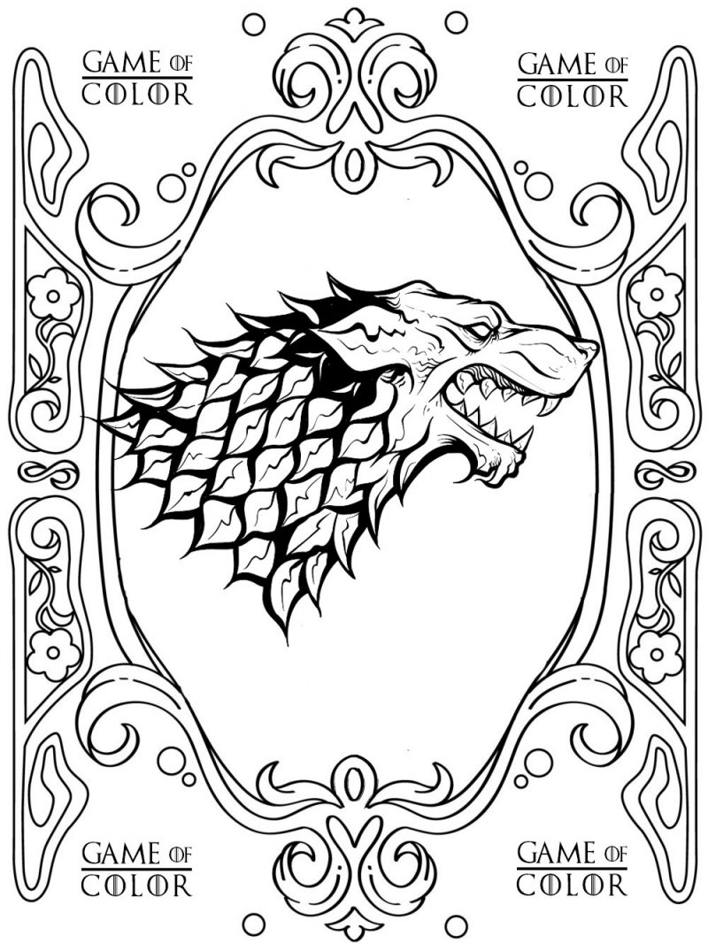game of thrones coloring pages game of thrones a new coloring book let39s you color in pages game coloring of thrones