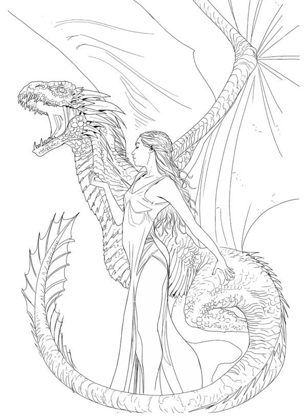 game of thrones coloring pages my art nouveaugame of thrones inspired image of danaerys pages game thrones coloring of