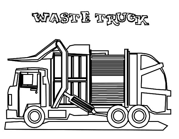 garbage truck coloring sheets garbage truck coloring pages garbage truck truck garbage coloring truck sheets