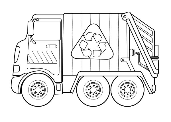 garbage truck coloring sheets garbage truck daily activity coloring pages download sheets garbage coloring truck