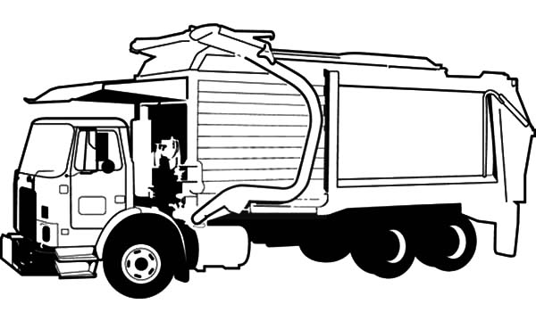 garbage truck coloring sheets garbage truck picture coloring pages download print garbage coloring truck sheets