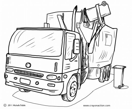 garbage truck coloring sheets main image for the garbage truck coloring page garbage garbage truck coloring sheets
