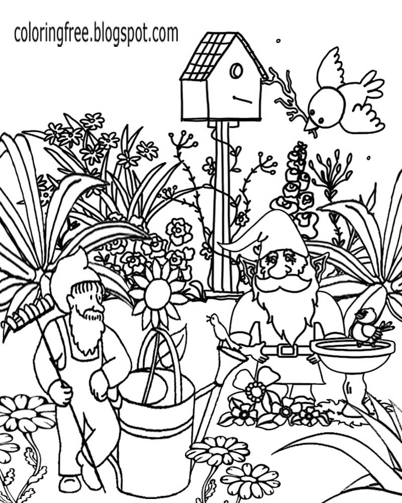garden coloring free coloring pages printable pictures to color kids coloring garden
