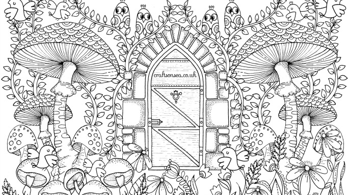 garden coloring free garden coloring page for adults crafts on sea coloring garden