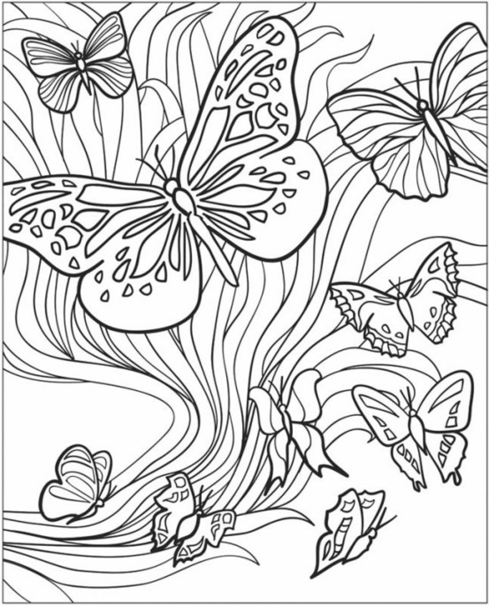 garden coloring kids gardening coloring pages free colouring pictures to garden coloring 1 1