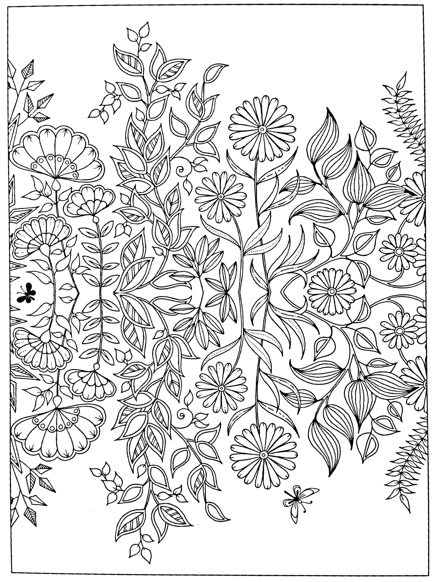 garden coloring secret garden free coloring pages at getdrawings free coloring garden