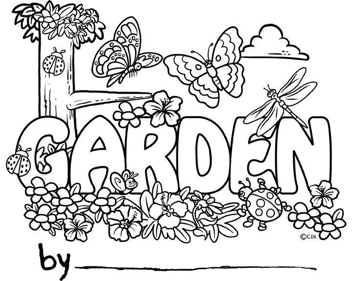 garden pictures to colour flower garden coloring pages to download and print for free to colour pictures garden