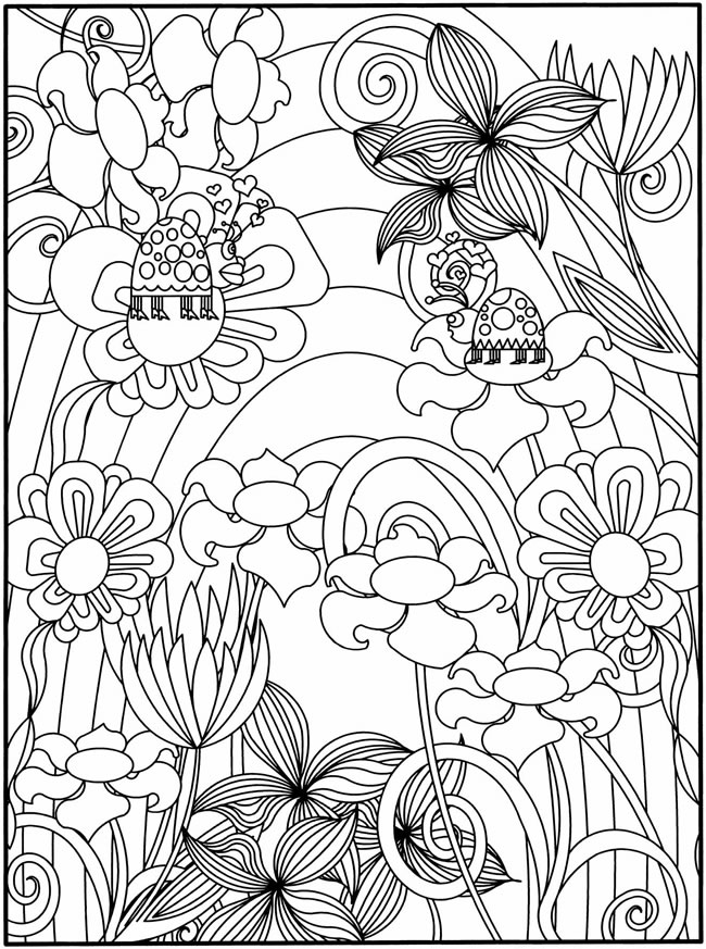 garden pictures to colour free garden coloring page for adults crafts on sea colour to pictures garden