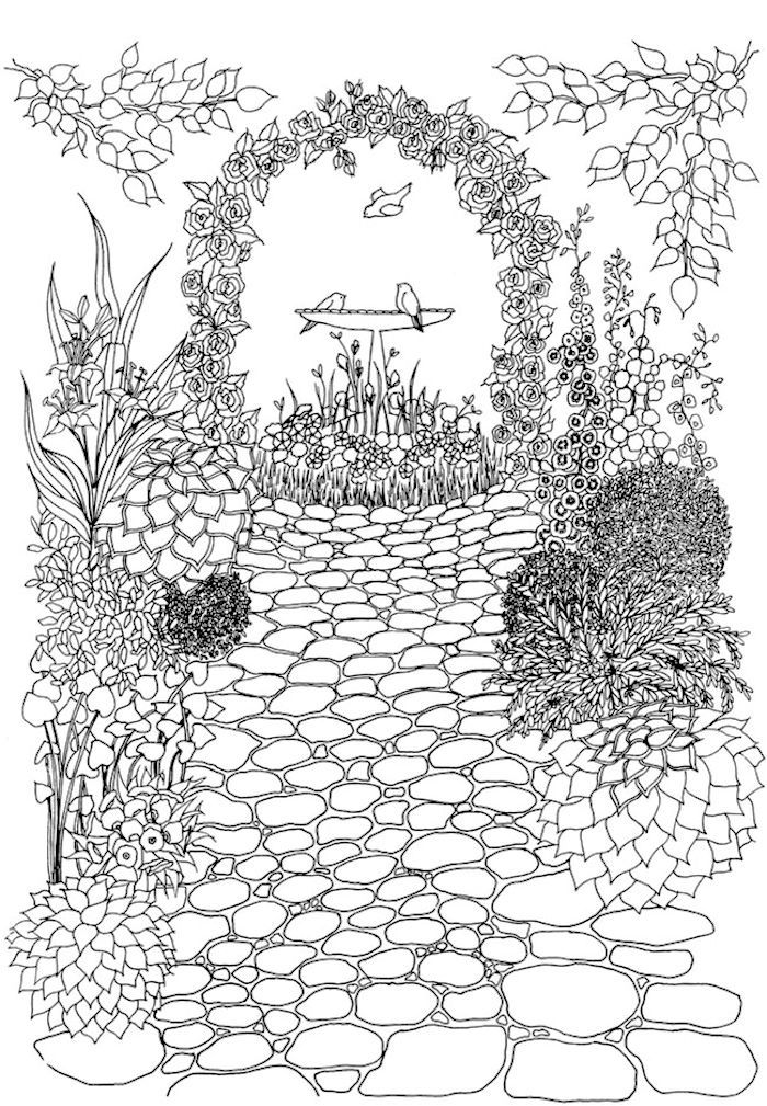 garden pictures to colour garden coloring pages to download and print for free garden pictures to colour