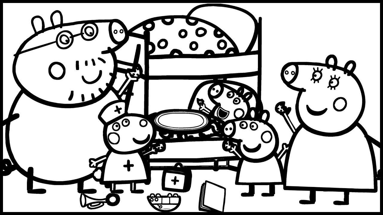 george pig colouring delicious treatment with cookies for george pig coloring colouring george pig